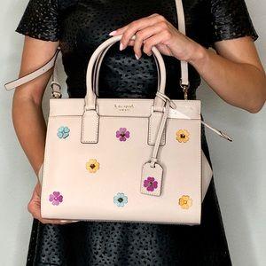 Kate Spade Cameron MD Spade Flower Satchel Bag